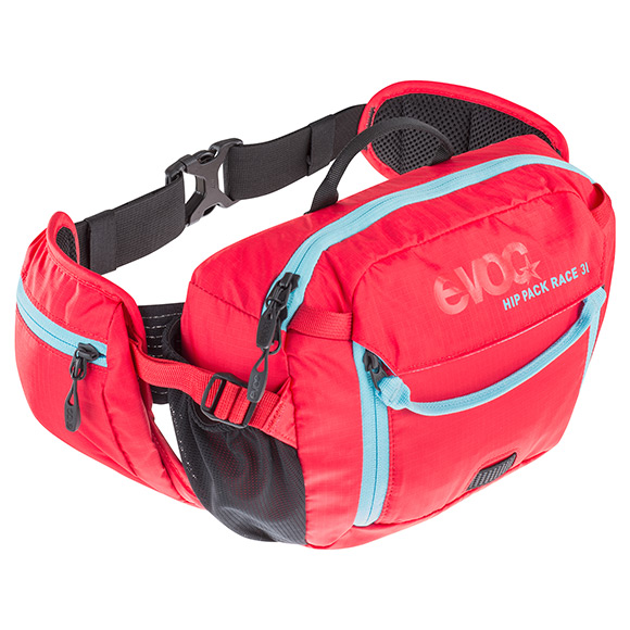 EVOC Hüfttasche HIP PACK Race 3L + 1,5L Bladder-olive - light petrol-image